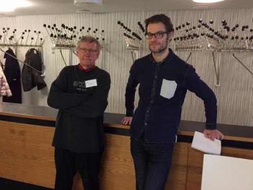 Heikki Pekkarinen ja Janne Saarinen